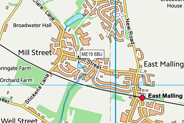 Map of QUALIS PROPERTIES (KENT) LTD at district scale