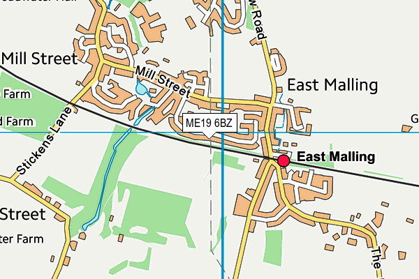 Map of RON TRAVEL LTD at district scale