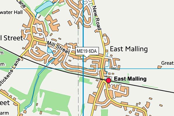 Map of JENNIE SHELDON PR LTD at district scale