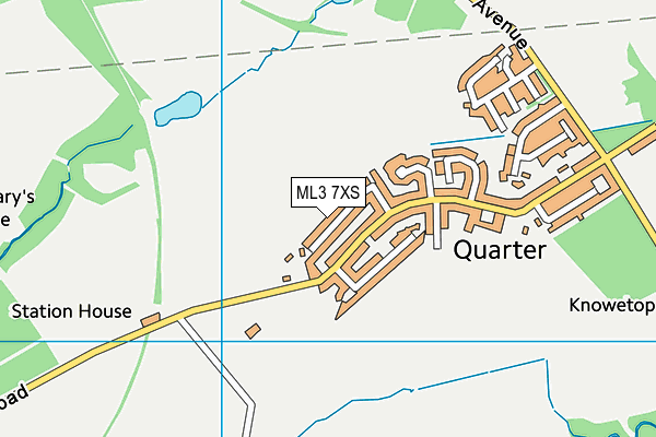 Map of INTELLIGENT LETS LTD at district scale