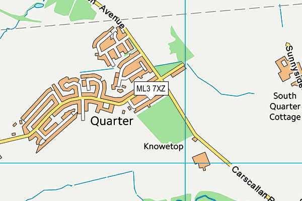 Map of QUARTEX DESIGN LIMITED at district scale
