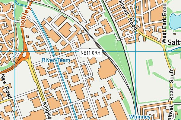 NE11 0RH map - OS VectorMap District (Ordnance Survey)