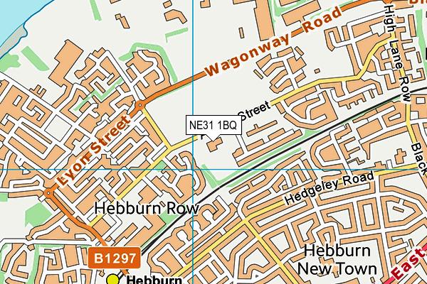 St Aloysius' RC Voluntary Aided Junior School map (NE31 1BQ) - OS VectorMap District (Ordnance Survey)