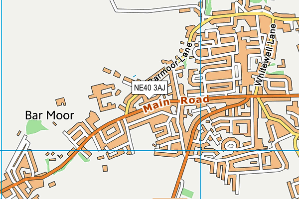 Map of MARS ESTATES  NORTH EAST LIMITED at district scale