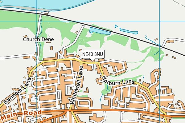 Map of MARK ERRINGTON CONSTRUCTION LTD at district scale