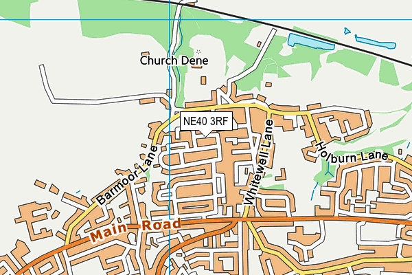 Map of ASH GROVE 1964 LIMITED at district scale