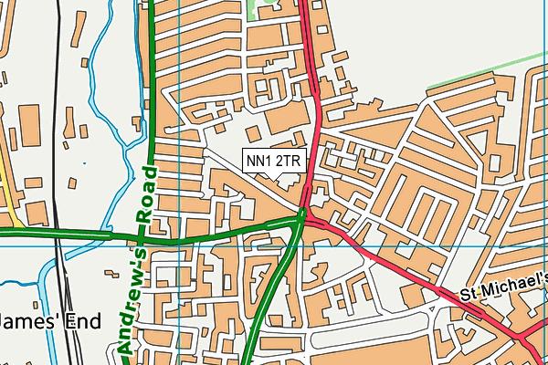 Castle Academy map (NN1 2TR) - OS VectorMap District (Ordnance Survey)