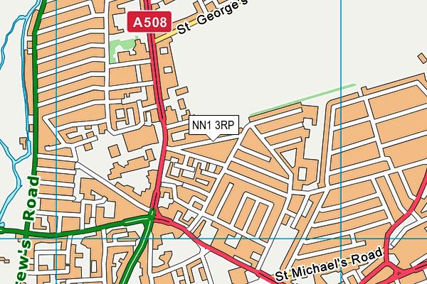NN1 3RP map - OS VectorMap District (Ordnance Survey)