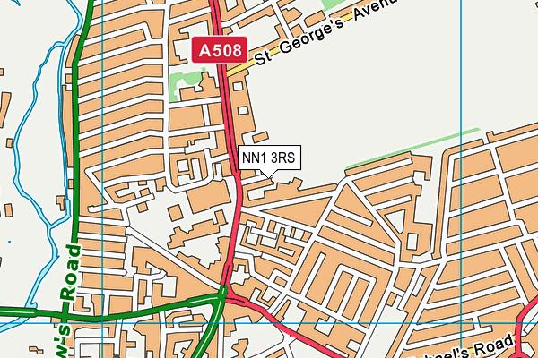 NN1 3RS map - OS VectorMap District (Ordnance Survey)