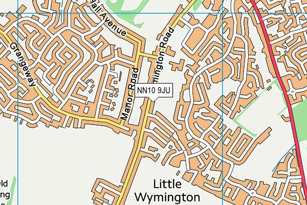 South End Infant School map (NN10 9JU) - OS VectorMap District (Ordnance Survey)