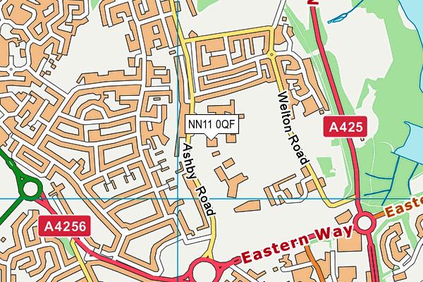 Falconer's Hill Academy map (NN11 0QF) - OS VectorMap District (Ordnance Survey)