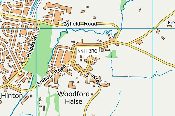Woodford Halse Church of England Primary Academy map (NN11 3RQ) - OS VectorMap District (Ordnance Survey)