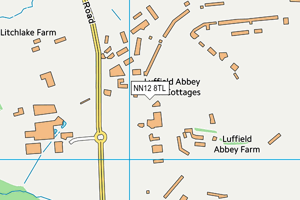 Silverstone UTC map (NN12 8TL) - OS VectorMap District (Ordnance Survey)
