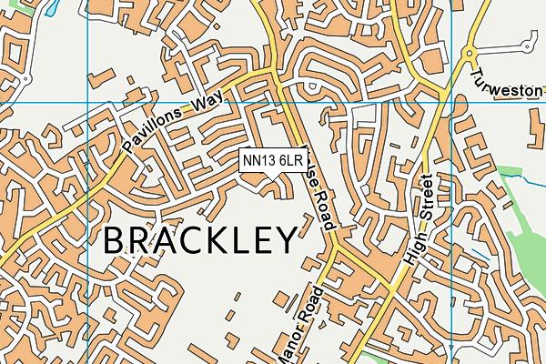 NN13 6LR map - OS VectorMap District (Ordnance Survey)