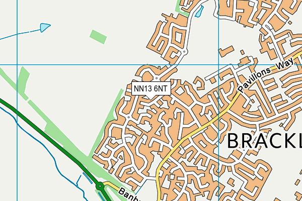 NN13 6NT map - OS VectorMap District (Ordnance Survey)