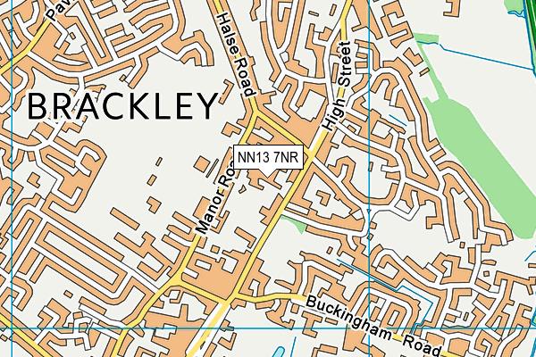 NN13 7NR map - OS VectorMap District (Ordnance Survey)