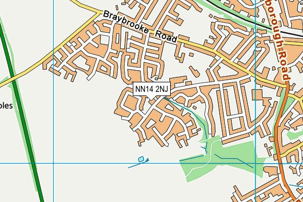 Loatlands Primary School map (NN14 2NJ) - OS VectorMap District (Ordnance Survey)