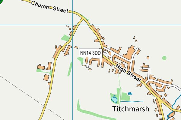 NN14 3DD map - OS VectorMap District (Ordnance Survey)
