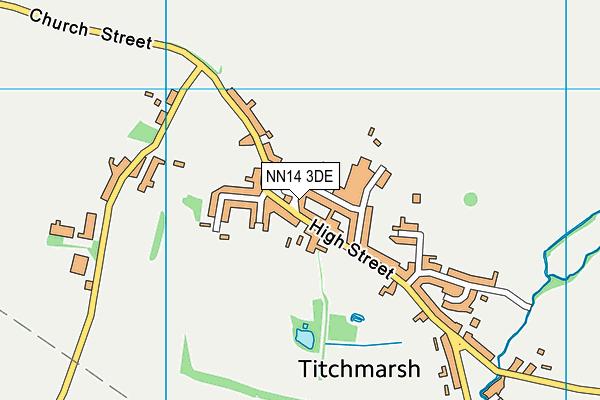 NN14 3DE map - OS VectorMap District (Ordnance Survey)