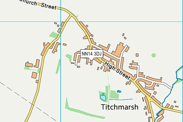 NN14 3DJ map - OS VectorMap District (Ordnance Survey)