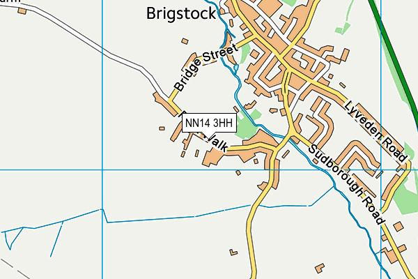 NN14 3HH map - OS VectorMap District (Ordnance Survey)