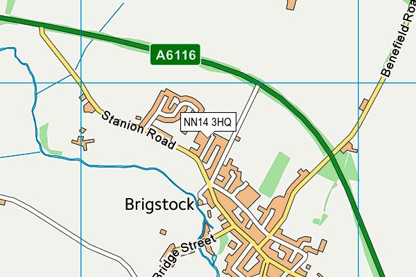 NN14 3HQ map - OS VectorMap District (Ordnance Survey)