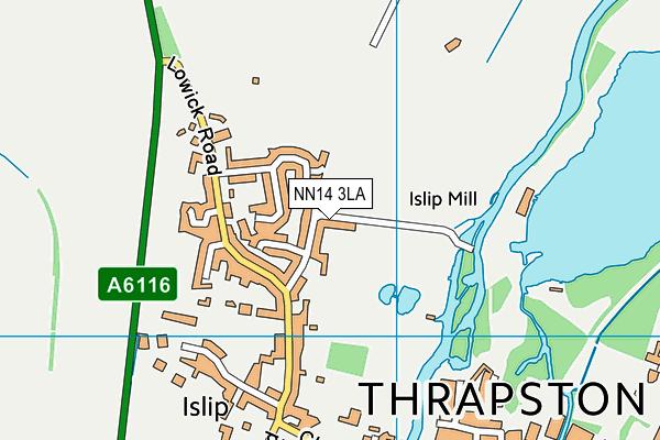 NN14 3LA map - OS VectorMap District (Ordnance Survey)