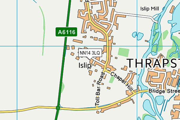 Map of MARRAY THOROUGHBRED SERVICES LTD at district scale