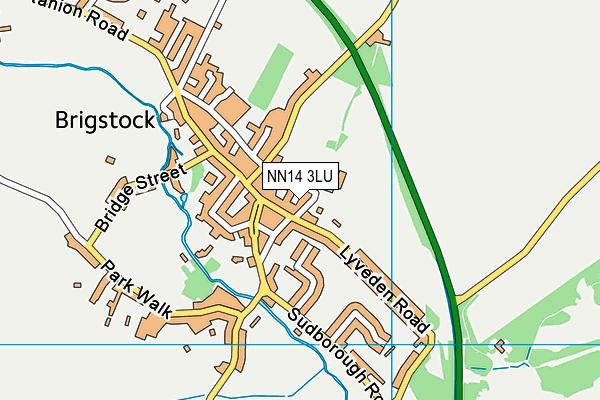 NN14 3LU map - OS VectorMap District (Ordnance Survey)