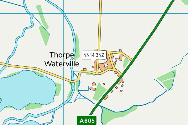 NN14 3NZ map - OS VectorMap District (Ordnance Survey)