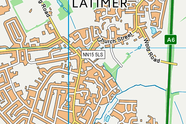 John Yeomans Hall map (NN15 5LS) - OS VectorMap District (Ordnance Survey)