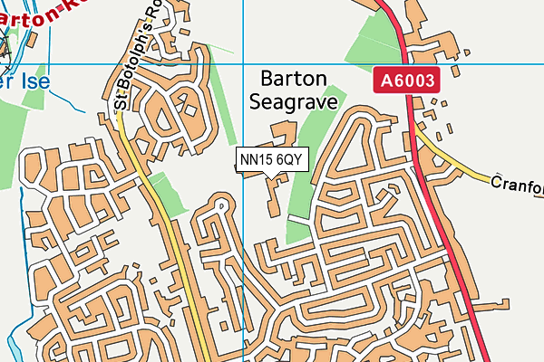 Barton Seagrave Primary School map (NN15 6QY) - OS VectorMap District (Ordnance Survey)