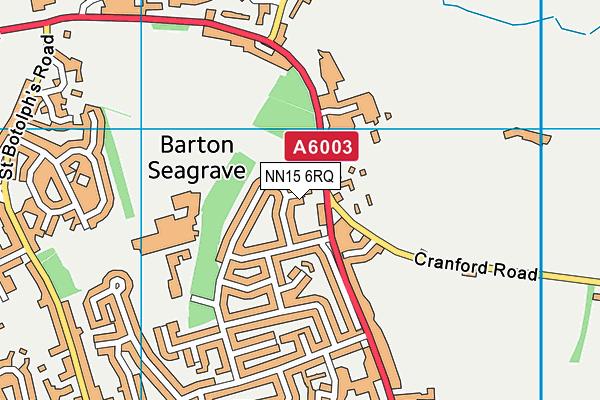 NN15 6RQ map - OS VectorMap District (Ordnance Survey)