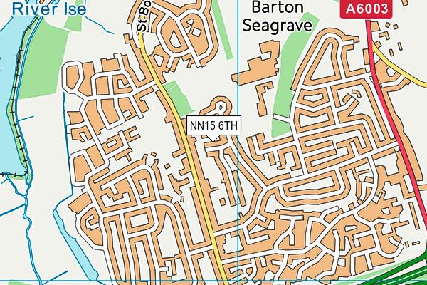 NN15 6TH map - OS VectorMap District (Ordnance Survey)