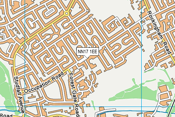 Our Lady of Walsingham Catholic Primary School map (NN17 1EE) - OS VectorMap District (Ordnance Survey)