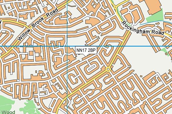 Studfall Infant Academy map (NN17 2BP) - OS VectorMap District (Ordnance Survey)