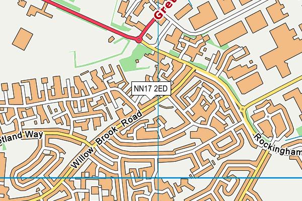 NN17 2ED map - OS VectorMap District (Ordnance Survey)