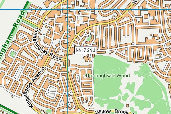 Woodnewton- A Learning Community map (NN17 2NU) - OS VectorMap District (Ordnance Survey)