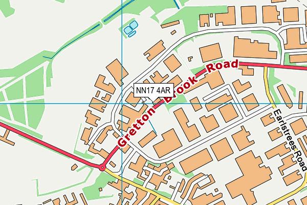 NN17 4AR map - OS VectorMap District (Ordnance Survey)
