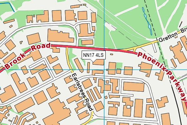 Map of 22 BELMONT ROAD LIMITED at district scale