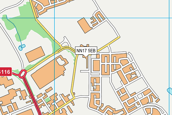 Priors Hall - A Learning Community map (NN17 5EB) - OS VectorMap District (Ordnance Survey)