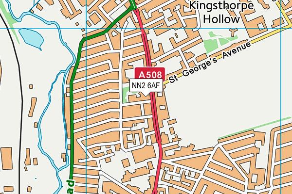 Bosworth Independent College map (NN2 6AF) - OS VectorMap District (Ordnance Survey)