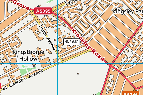 Map of KWIK PRO LTD at district scale