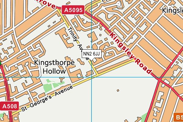 NN2 6JJ map - OS VectorMap District (Ordnance Survey)