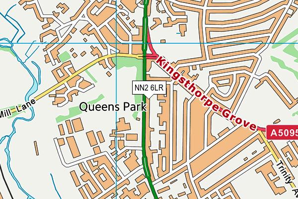Cambian Northampton School map (NN2 6LR) - OS VectorMap District (Ordnance Survey)