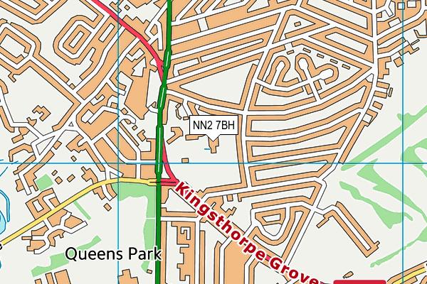 The Good Shepherd Catholic Primary School map (NN2 7BH) - OS VectorMap District (Ordnance Survey)