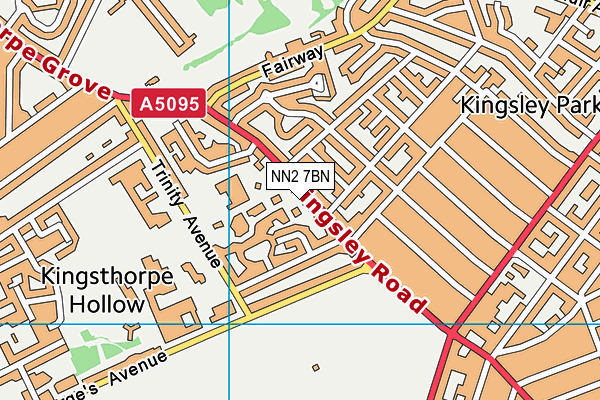 Map of KINGSLEY LEGAL CONSULTANCY LTD at district scale