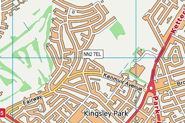 NN2 7EL map - OS VectorMap District (Ordnance Survey)