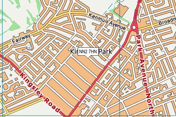 NN2 7HN map - OS VectorMap District (Ordnance Survey)