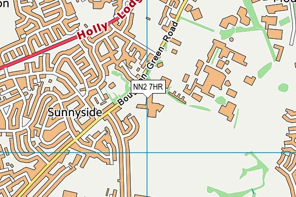 Kingsthorpe College map (NN2 7HR) - OS VectorMap District (Ordnance Survey)